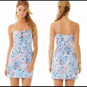 NWT Lilly Pulitzer Petra Dress Shell Me Size 2